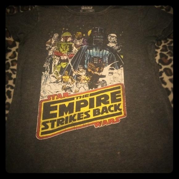 Star Wars Tops - Star wars Empire strickes back vintage t-shirt